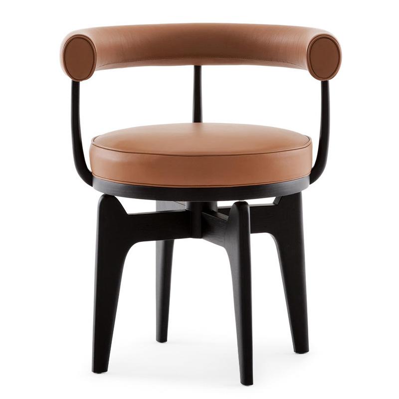 Cassina 528 indochine swivel armchair - Cassina charlotte perriand ...