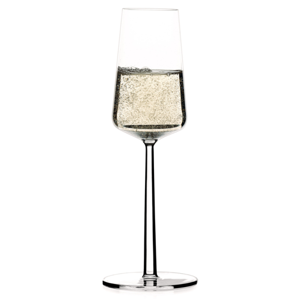 iittala essence champagne glasses x2 21cl. Black Bedroom Furniture Sets. Home Design Ideas
