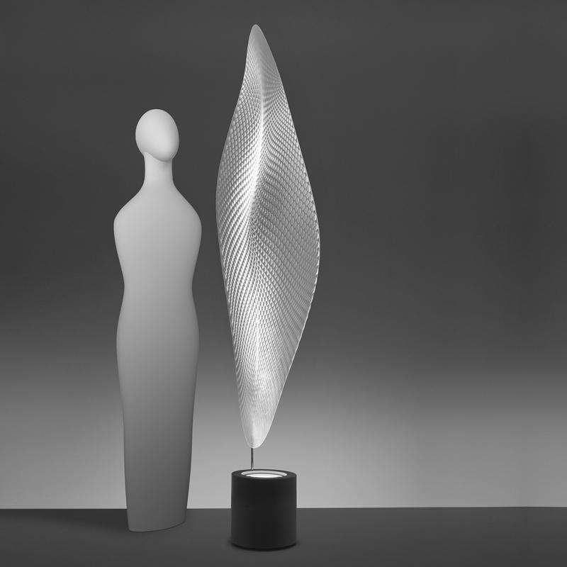 artemide cosmic leaf floor lamp. Black Bedroom Furniture Sets. Home Design Ideas