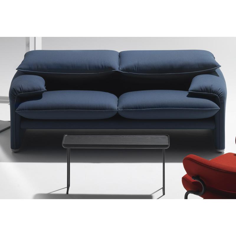 Cassina 675 maralunga 40 2 seater sofa 166cm for Sofa 8 cassina