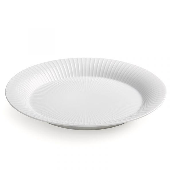 Kahler Hammershoi Plate White 27cm