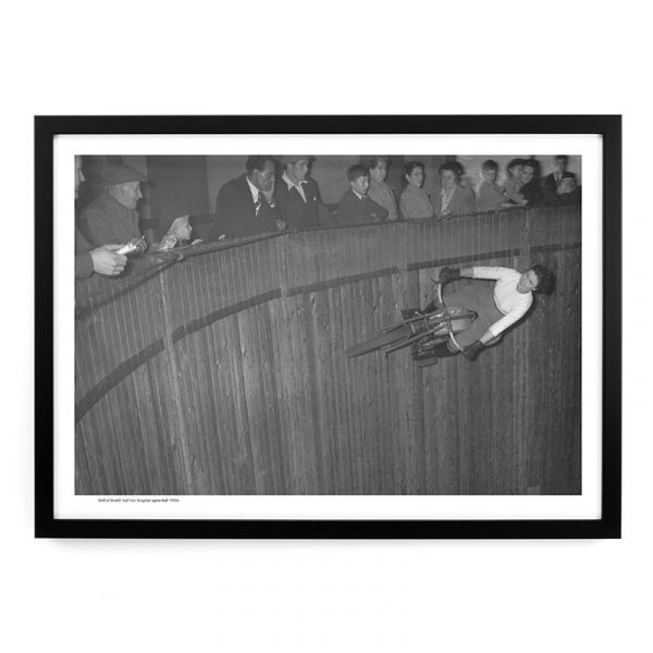 Hull Fair 'Wall Of Death' 1950s