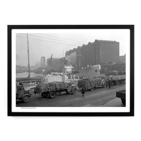Hull Docks Lorries 1952