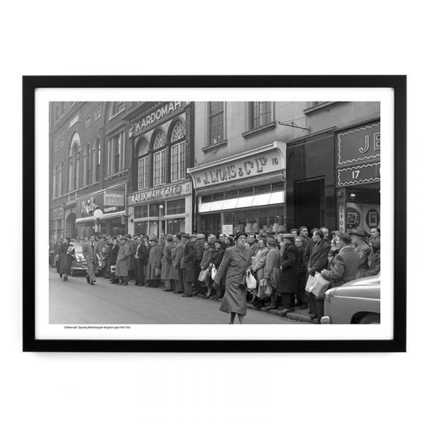 A188 'Littlewoods' Opening Whitefriargate 1955