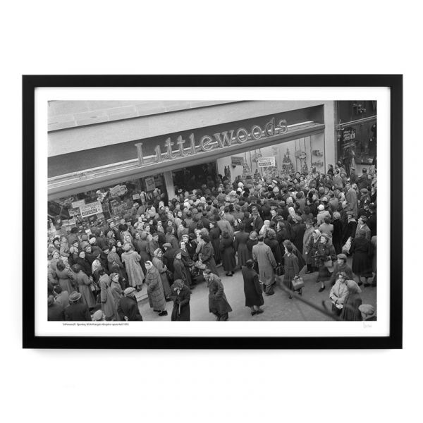 A187 'Littlewoods' Opening Whitefriargate 1955