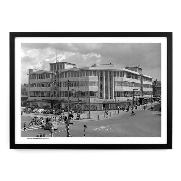 'Hammonds' Ferensway 1956 - A3 Framed Art Print