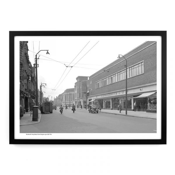 'Woolworths' King Edward Street Hull 1956