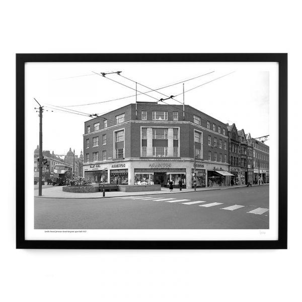 Saville Street/Jameson Street Junction 1957