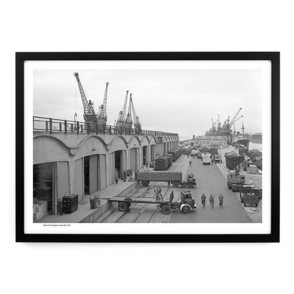 Albert Dock 1961