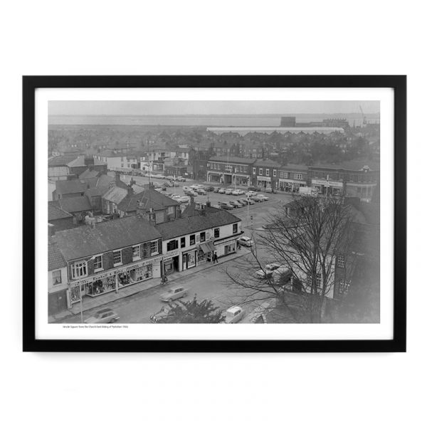 Hessle Square From The Church 1966