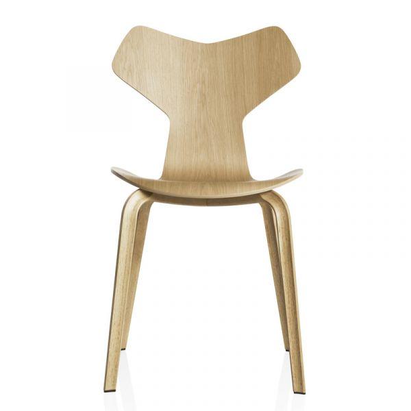Fritz Hansen 4130 Grand Prix Chair Wood Veneer Oak