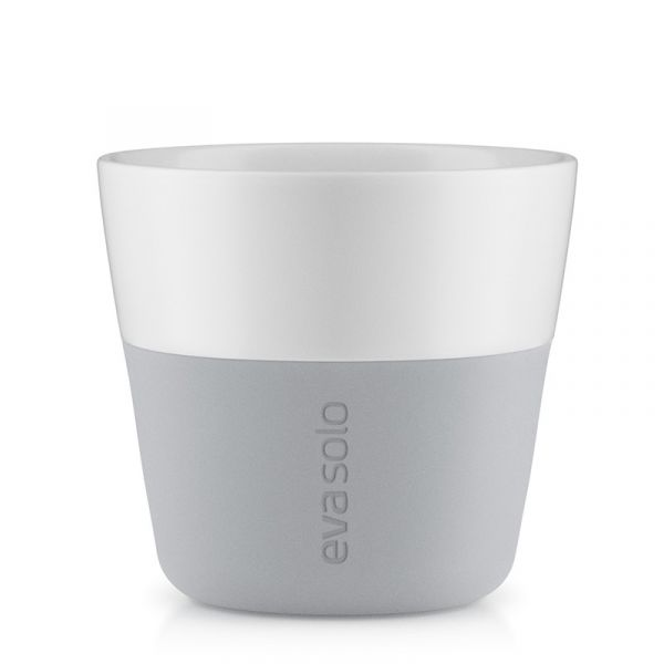 Eva Solo Coffee Mugs x2 230ml Marble Grey
