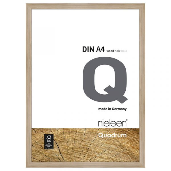 Nielsen Quadrum Wood Frame A4 Oak