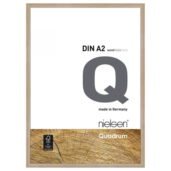 Nielsen Quadrum Wood Frame A2 Oak