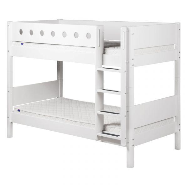 Flexa White Bunk Bed