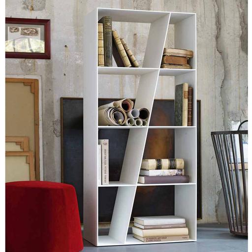 B&B Italia SL66 Shelf Bookcase 145Hx66Wx37Dcm White Corian