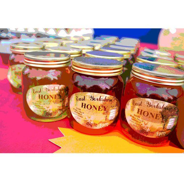 Honey Photographic Print (FO_Honey_002)