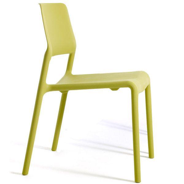 Knoll Spark Dining Chair Citron