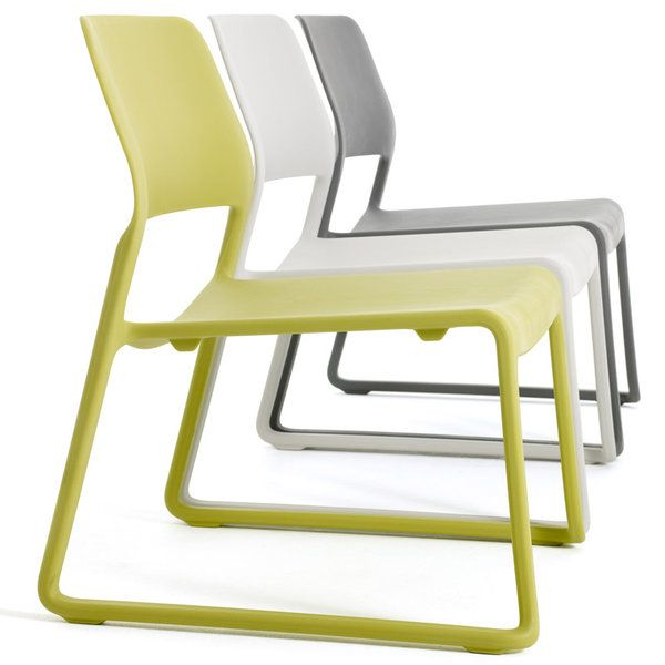 Knoll Spark Lounge Chairs x3
