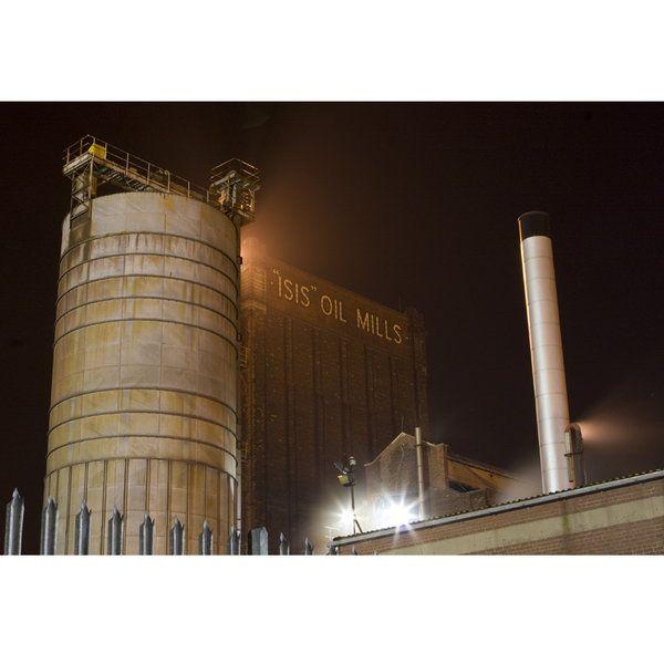 Landscape Photographic Print (LA_Hull_Industrial_001)