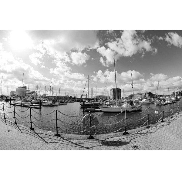Hull Marina 004 Print