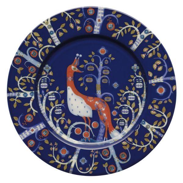 iittala Taika Plate x6 Blue 22cm