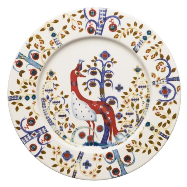 iittala Taika Plate x6 White 22cm