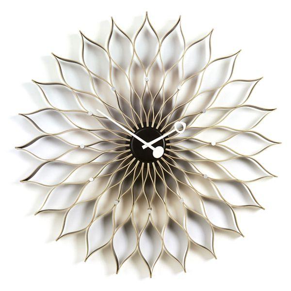 Vitra Sunflower Clock Birch