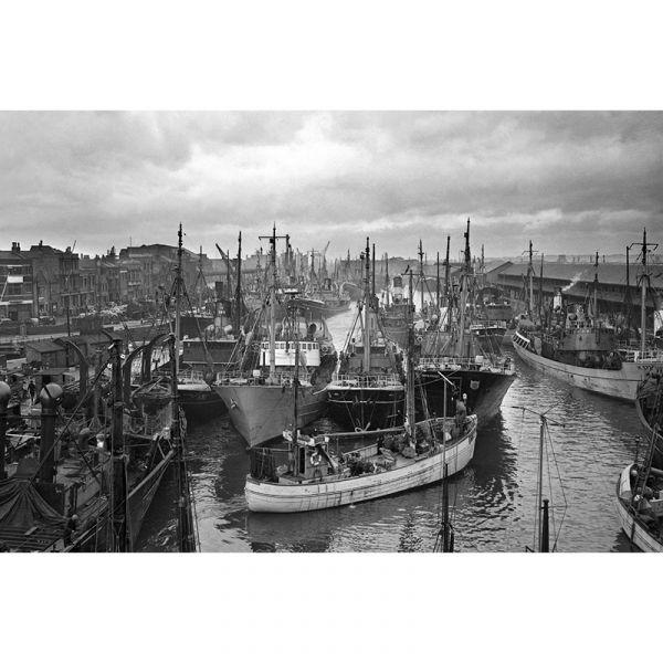 St Andrew's Dock 1949 30x20in Canvas Print