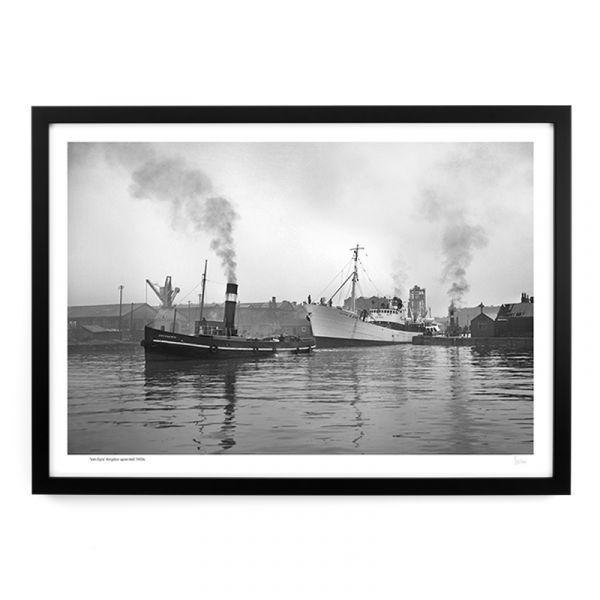 'Van Dyck' Hull Docks 1950's