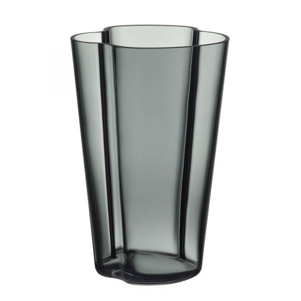 iittala Aalto Vase 220mm Dark Grey