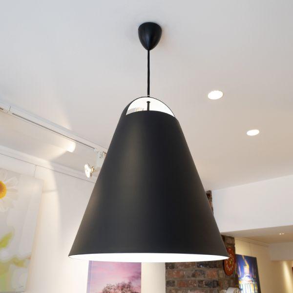 Louis Poulsen Above Pendant Light 400mm Black Ex-Display was £505 now £325