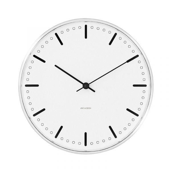 Rosendahl Arne Jacobsen City Hall Wall Clock 16cm