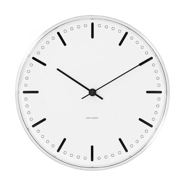 Rosendahl Arne Jacobsen City Hall Wall Clock 21cm