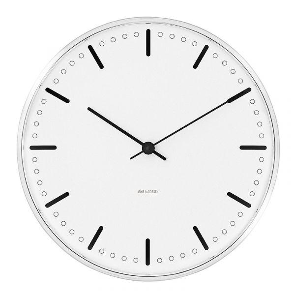 Rosendahl Arne Jacobsen City Hall Wall Clock 29cm