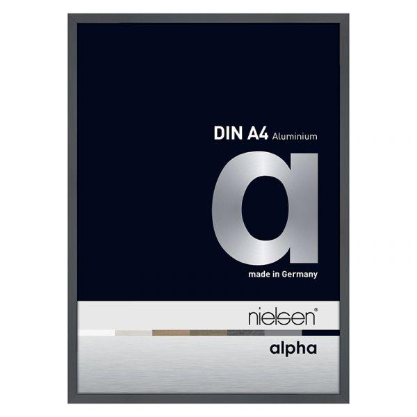 Nielsen Alpha Aluminium Frame A4 Dark Grey Polished
