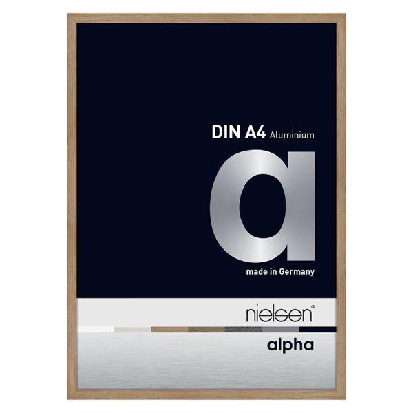 Nielsen Alpha Aluminium Frame A4 Oak Veneer