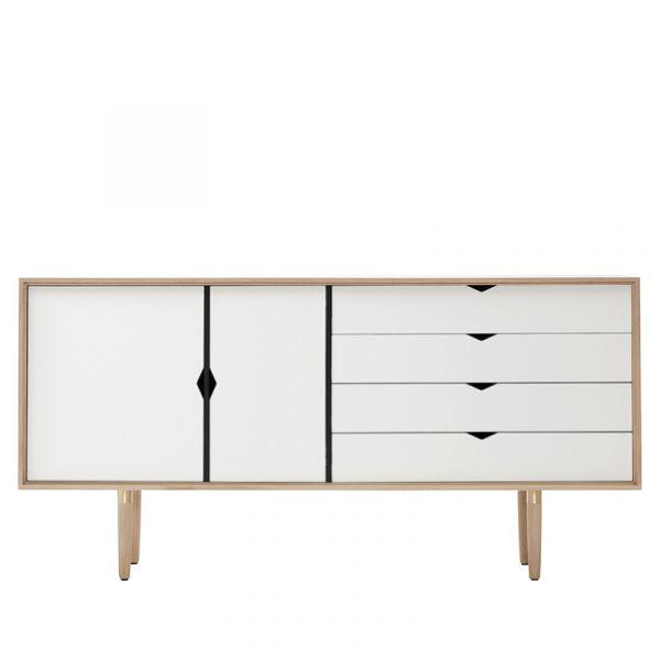 Andersen S6 Sideboard White Doors