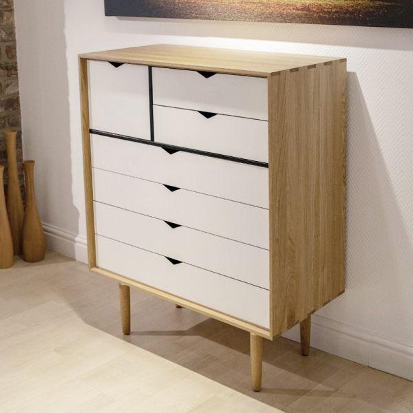 Andersen S8 Storage White Doors Oak Oil Ex-Display was £2680 now £1895