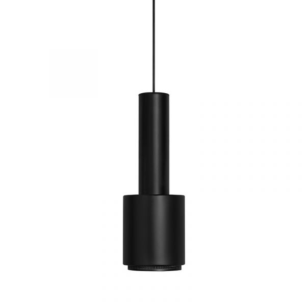 Artek A110 Hand Grenade Pendant Light Black Shade Black Ring