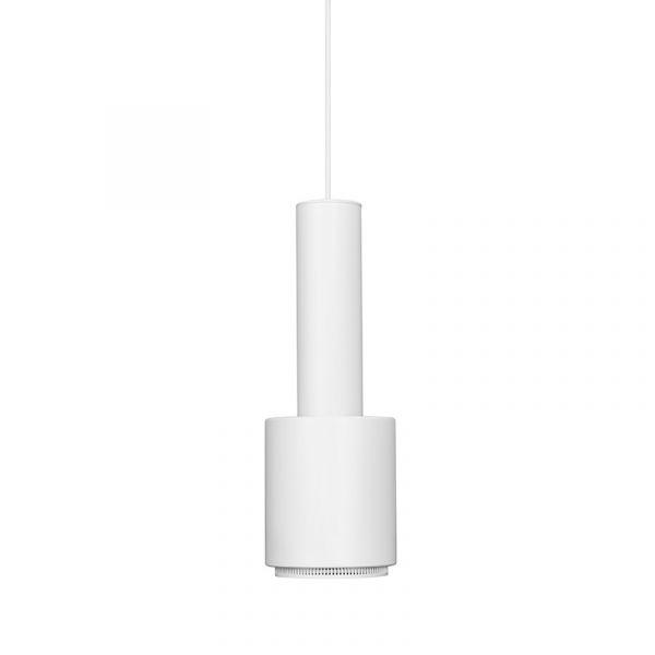 Artek A110 Hand Grenade Pendant Light White Shade White Ring
