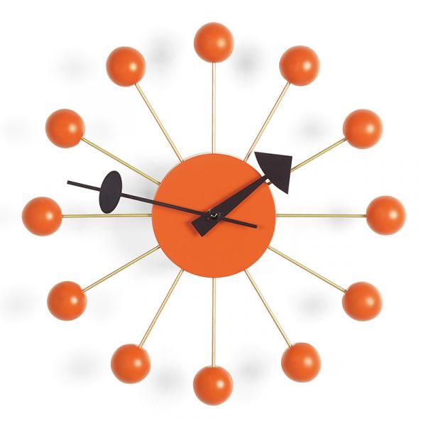 Vitra Ball Wall Clock Ball Orange