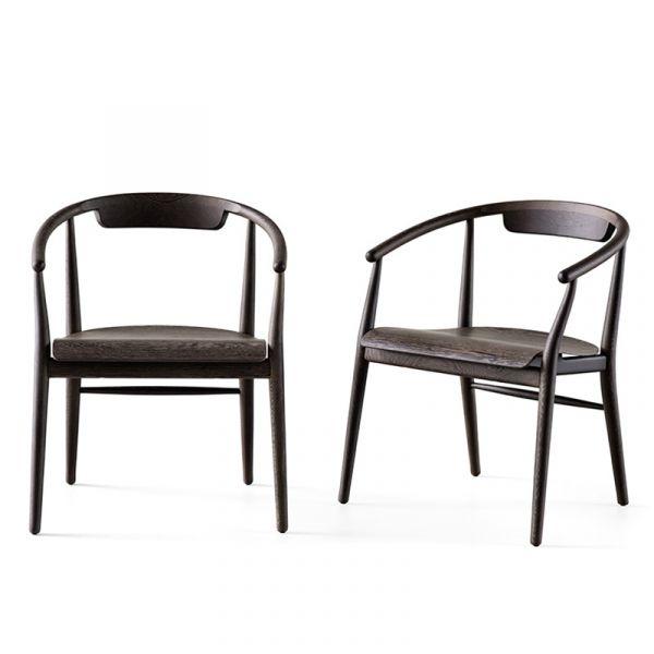 B&B Italia SJ61L Jens Dining Armchair