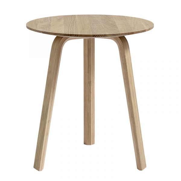 Hay Bella Round Coffee Table D45cm x H49cm  Water Based Lacquered Oak