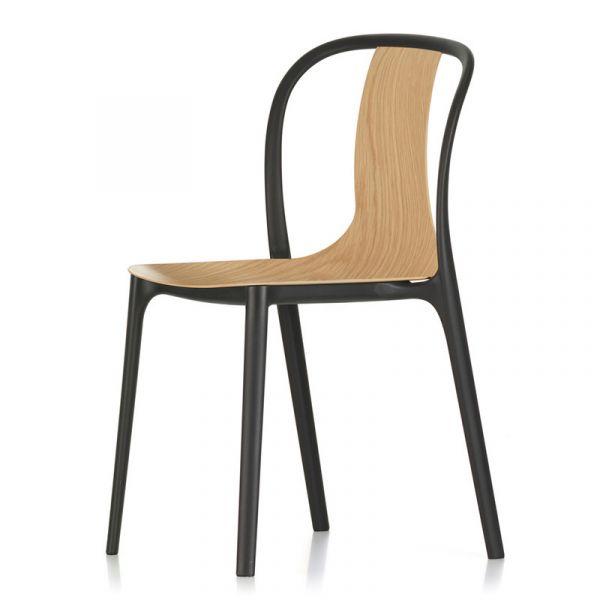 Vitra Belleville Chair Wood Natural Oak
