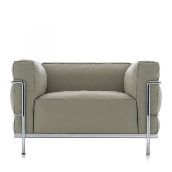 Cassina LC3 Le Corbusier Armchair
