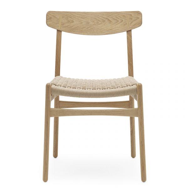 Carl Hansen CH23 Dining Chair Natural Paper Cord