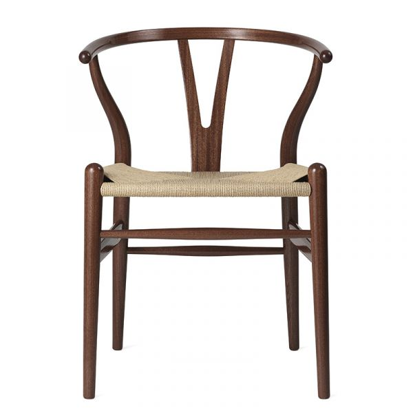 Carl Hansen CH24 Wishbone Dining Chair Birthday Edition Mahogany High Gloss Lacquer