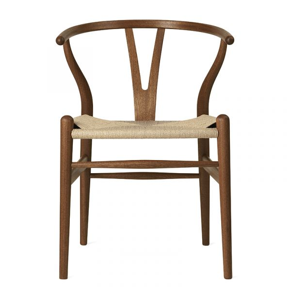 Carl Hansen CH24 Wishbone Dining Chair Mahogany Oil
