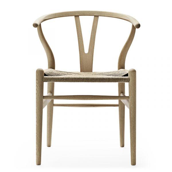Carl Hansen CH24 Wishbone Dining Chair Oak Soap